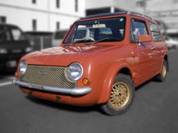 FOR SALE 1989 Nissan PAO Orange Canvas top 5spd Very rare unit