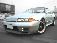 1989 BNR32 skyline gt-r 1owner 66,000km silver FullServiceHistory available FOR SALE!