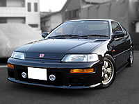 JDM HONDA STOCK USED CAR/1990 HONDA MUGEN modified JDM CR-X SiR B16A VTEC model sale