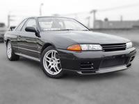 20years old BNR32 Nissan Skyline GT-R/GTR RB36DETT R33 Rims For Sale Japan to Newzealand Canada Euro Netherland Germany MONKY'S INC CANADA CARS DIVISION