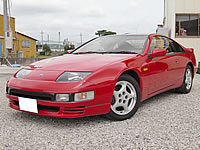 1990 JDM RHD Nissan Fairlady 300ZX TwinTurbo T-bar 5SPD 36k km only 1owner non smoker unit COMPLETE ORIJINAL CAR FOR SALE JAPAN CANADA U.S. NEW ZEALAND MONKY'S INC JAPAN