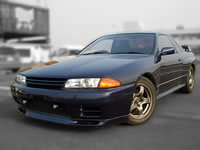 1991 Nissan BNR32 skyline gt-r rb26dett dark blue for sale canada