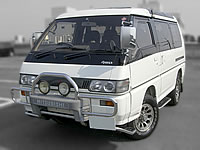 Only 81000km Auction grade 4, very good condition P35W Delica Star Wagon Super Exceed Crystal roof sale Export Canada Import From Japan MONKY'S INC CANADA CAR DIVISION