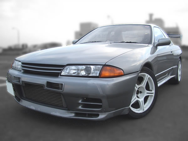 1991 BNR32 Skyline GT-R : Front view