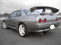 1991 BNR32 Skyline GT-R : Rear view