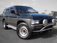 1991 Nissan Terrano/Pathfinder Diesel Turbo 4X4 64,000km one owner no smoke unit for sale!