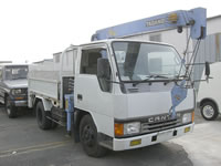 JDM Mitsubishi Truck For Sale 1992 Canter Truck Crane FE317B 4D33 diesel Japan Used Truck MONKY'S INC