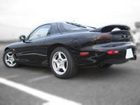 1992 FD3S RX-7 TypeR : Rear view