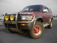 1992 LN130 Toyota Hilux Surf SSR-X Diesel Turbo 4x4 Japan / MONKY'S INC Used Car Truck Export