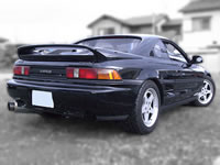 1992 JDM RHD Toyota MR2 GTS Tbar 3SGTE TURBO : Rear end view