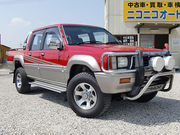 mitsubishi strada jdm diesel pick up sale 1994 1995 k34t diesel double cab truck export canada