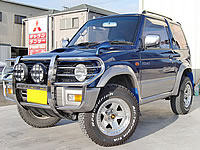 SALE EXPORT IMPORT FROM JAPAN Mitsubishi Pajero Mini 5spd Modified H56A JDM RHD Export Canada From Japan MONKY'S INC