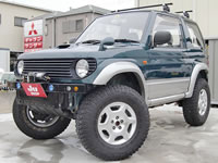 FOR SALE Mitsubishi Pajero Mini Modified H56A JDM RHD Export Canada From Japan MONKY'S INC