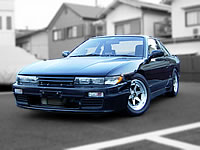 JDM 1989 S13 SILVIA K'S CA18DET TURBO MODIFIED DRIFT ENGINE CAR  FOR SALE EXPORT FROM JAPAN TO CANADA AUSTRALIA