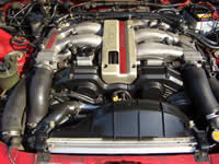 1991 300ZX Tbar turbo : Engine bay