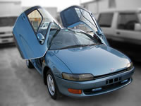 STOCK USED CAR/1990 EXY10 Toyota SERA Gullwing Original model sale