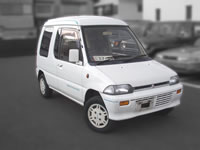 JDM RHD CARS BEST CAR FOR DOG, CAT, All Your lovely Pets carry, walking car!! for sale 1990 Minica Toppo Kei 4wd van from japan used car MONKY'S INC