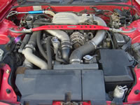1992 Mazda RX-7 FD3S : Engine bay