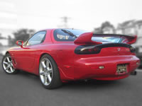 1992 Mazda RX-7 FD3S : Rear view