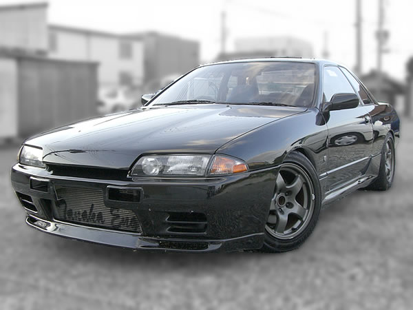 RB25DET Swapped R32 Skyline GTS-T TypeM : Front view