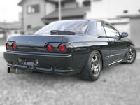 RB25DET Swapped R32 Skyline GTS-T TypeM : Rear end view