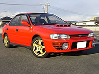 JDM Subaru WRX GC8 EJ20 AWD 34,000km Mint Car For Sale Soon japan to canada