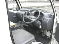 Subaru Samber Dump Mini Truck : Interior View