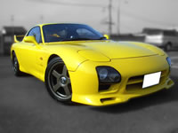 FOR SALE 1992 Mazda FD3S RX-7 mazda speed body kit / MONKY'S INC Canada division stock used cars
