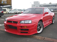 STOCK USED CAR/1991 BNR32 Bee-Racing B324R DRIFT CAR Modified Car for sale