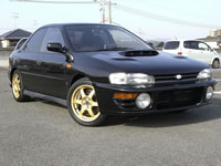 SOLD GALLERY JDM RHD 1994 GC8 SUBARU WRX STi-Version1 RARE UNIT | MONKY'S INC CANADA CARS DIVISION