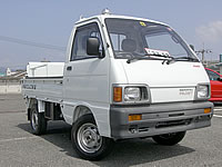 FOR SALE Daihatsu Hi-Jet Mini Truck 4x4 with Tail gate lifter MONKY'S INC JAPAN
